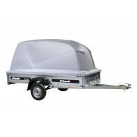Muuli 1400 SX Perävaunu Juncar Kuomulla (harmaa)