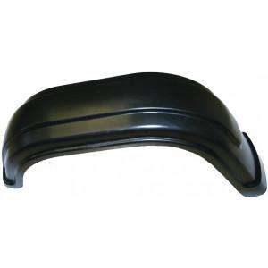 Muovilokasuoja vasen 1-aks (musta)