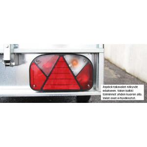 Muuli 1500L Peräkärry Juncar Kuomulla + varusteet