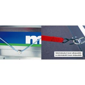Muuli 1600L Peräkärry Juncar Kuomulla + varusteet